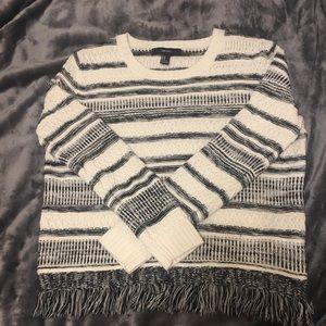 Forever21 Knit Fringe Sweater